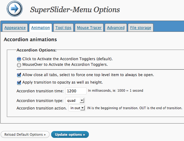 SuperSlider-Menu