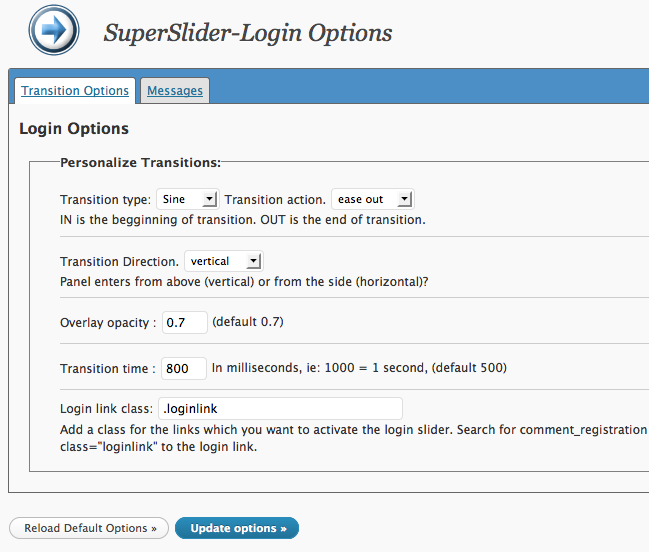 SuperSlider-Login
