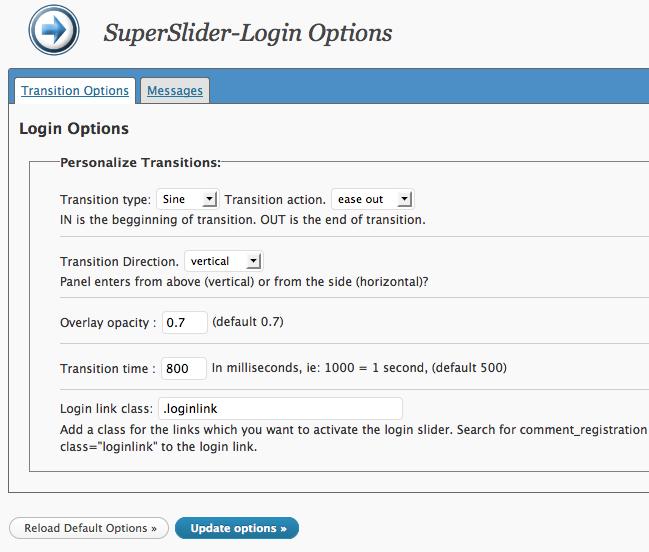 SuperSlider-Login